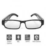 กล้องแว่นตาใส HD720P เมมโมรี่ 8 GB