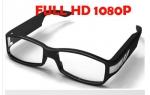 กล้องแว่นตาใสFULL HD1080P แถมเมมโมรี่ 8 GB