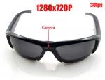 กล้องแว่นตากันแดดถ่ายวีดีโอ ถ่ายภาพนิ่ง HD720P พร้อมเมมโมรี่ 8 G