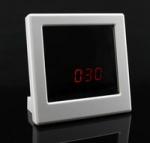 กล้องนาฬิกากระจก HD720P ถ่ายวีดีโอเมื่อมีการเคลื่อนไหว มีรีโมท