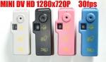 กล้องจิ๋ว HD720P ถ่ายวีดีโอ ถ่ายภาพนิ่ง