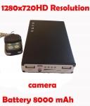 กล้องที่ชาร์จแบตเตอรี่ฉุกเฉินHD720P ถ่ายวีดีโอ มีรีโมท