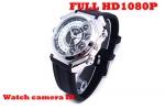 กล้องนาฬิกาข้อมือกันน้ำ FULL HD1080P  สายยาง ทำงานเมื่อมีเสียง